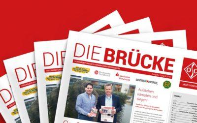 """Relaunch der Vereinszeitung """"Die BRÜCKE"""" des Osnabrücker Sportclub"""