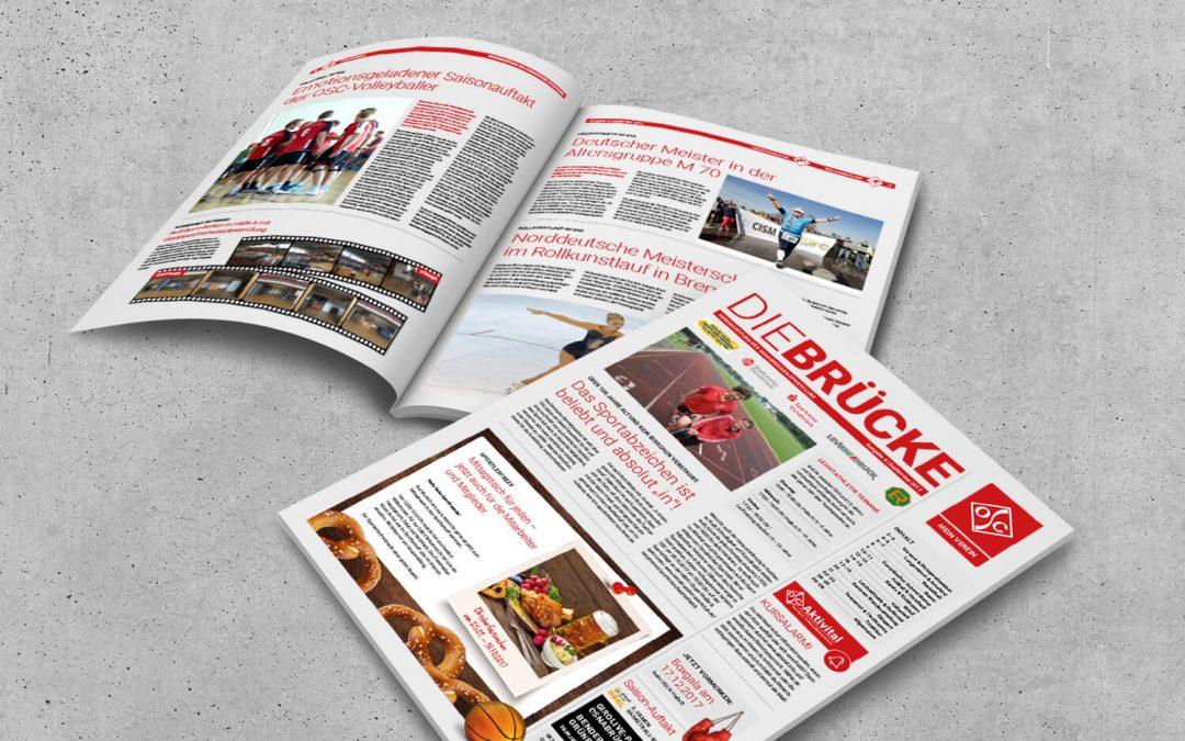 Die Brücke des OSC - team4media gestaltet Printdesign