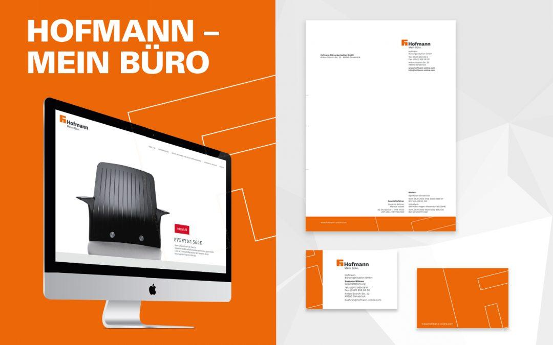 Corporte Design für Hofmann Büroorganisation von team4media
