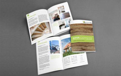 Imagebroschüre für Hausbau Heggemann gestaltet