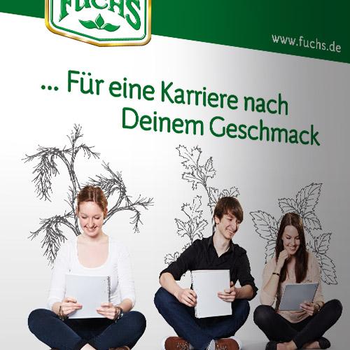 Auszubildenden- und Personalrecruiting für Fuchs Gewürze GmbH