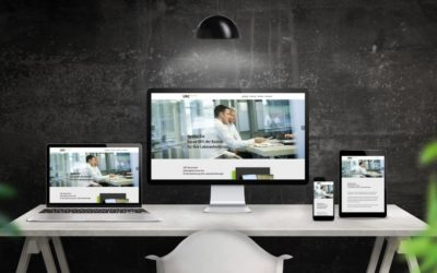 Onepage-Webseite für UBC-Benchmark