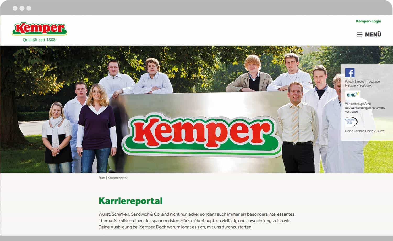 screenshot_karriereportal-Kemper