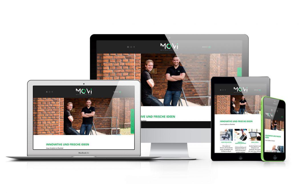 Neue TYPO3-Website für MoVi GbR