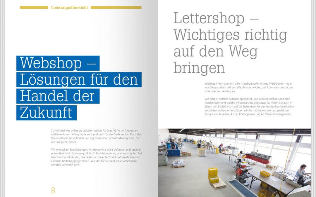 Imagebroschüre Scholz Versand Service von team4media