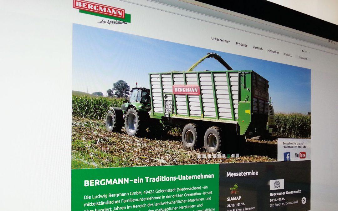 neue Webseite für Bergmann von team4media