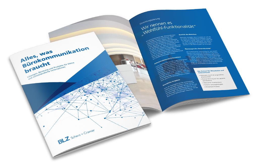 Imagebroschüre für BLZ Scherz + Cramer GmbH
