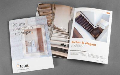 Imagebroschüre für Tischlerei Tepe