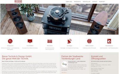 Design & Technik für Bosse Technik & Design