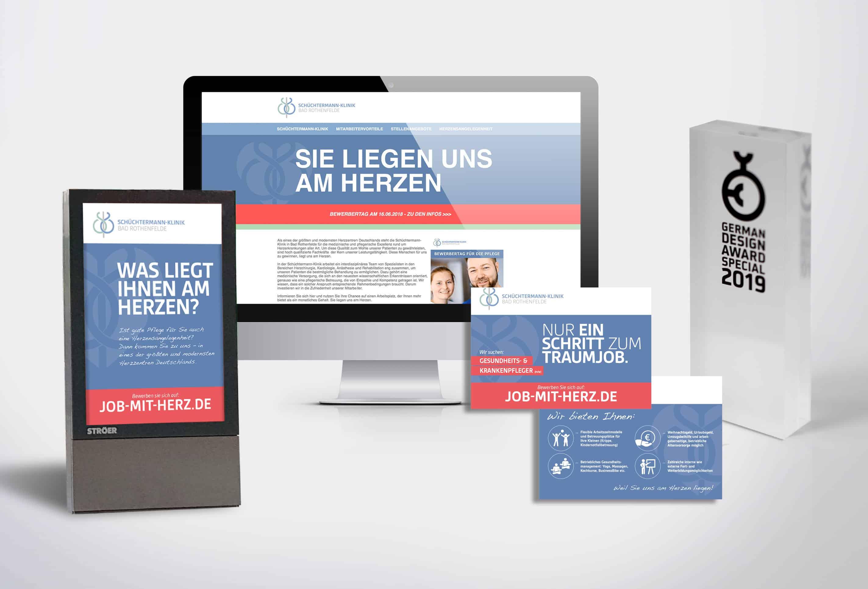 team4media Referenz Personalmarketing Schuechtermannklinik
