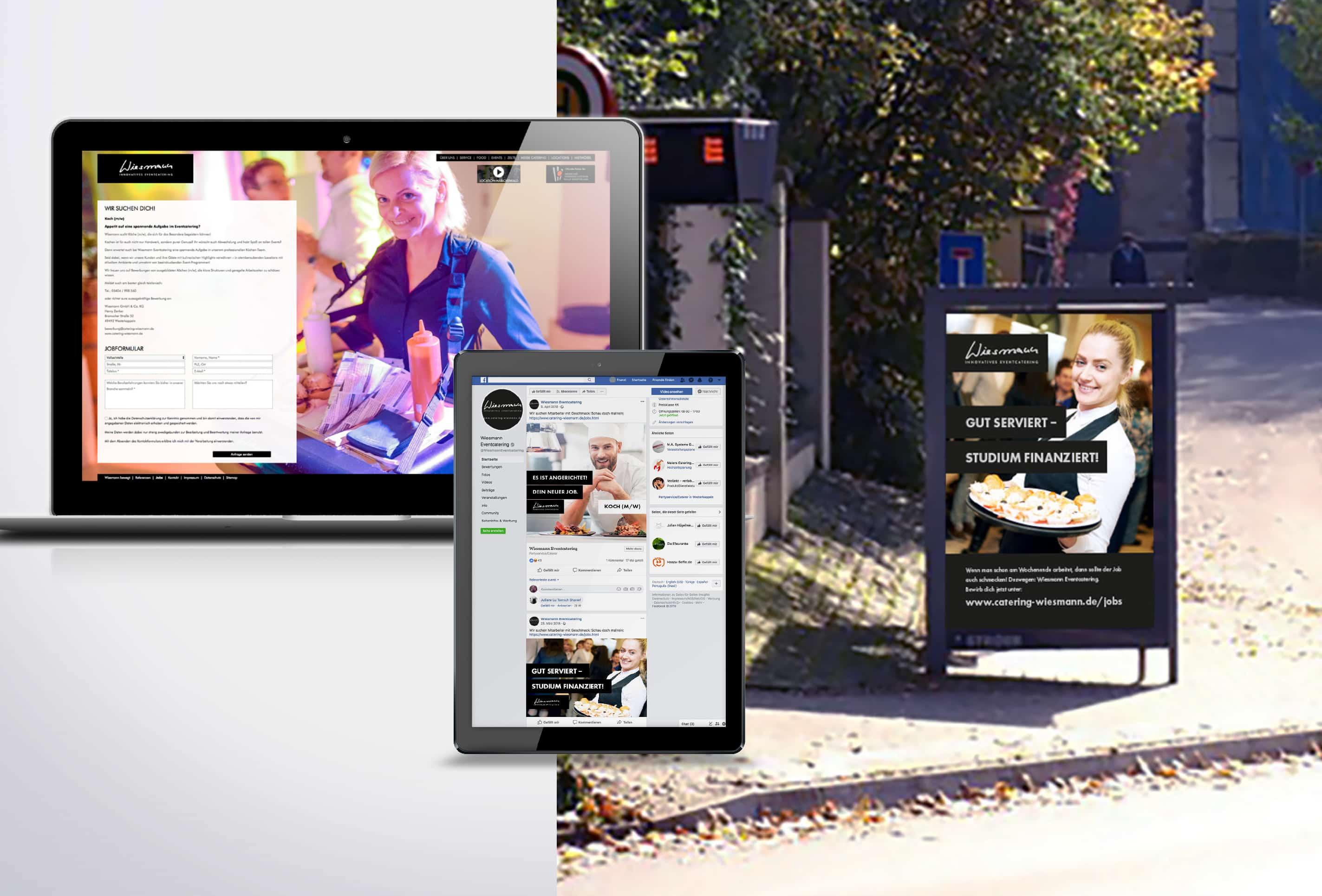 team4media Referenz Personalmarketing Wiessmann Caterina