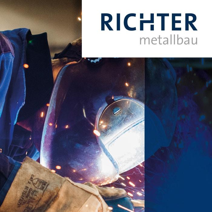 Referenz Teaser Richter Metallbau Schweißer
