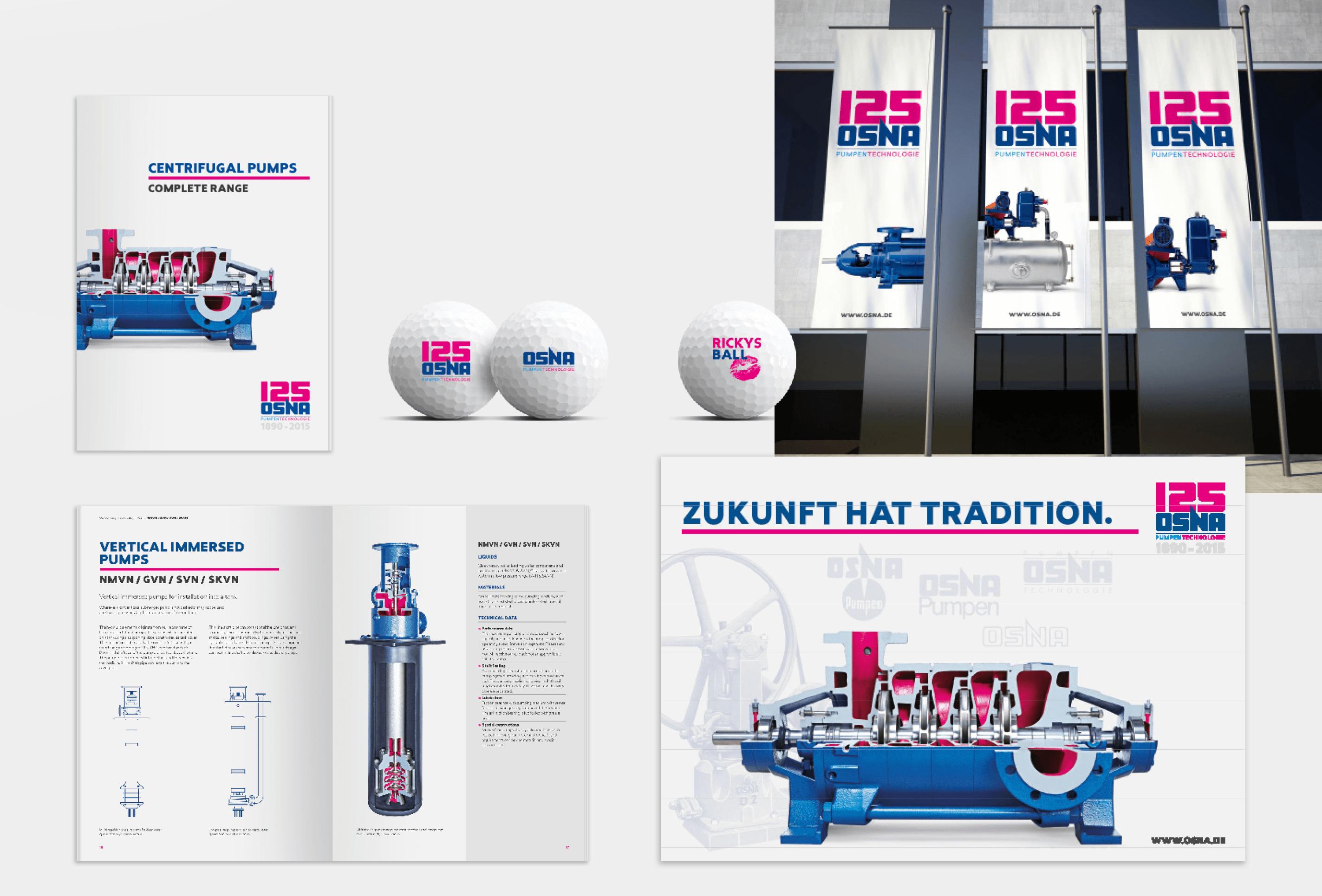 OSNA-Pumpen Corporate Design gestaltet von team4media - Ihre Werbeagentur aus Osnabrück