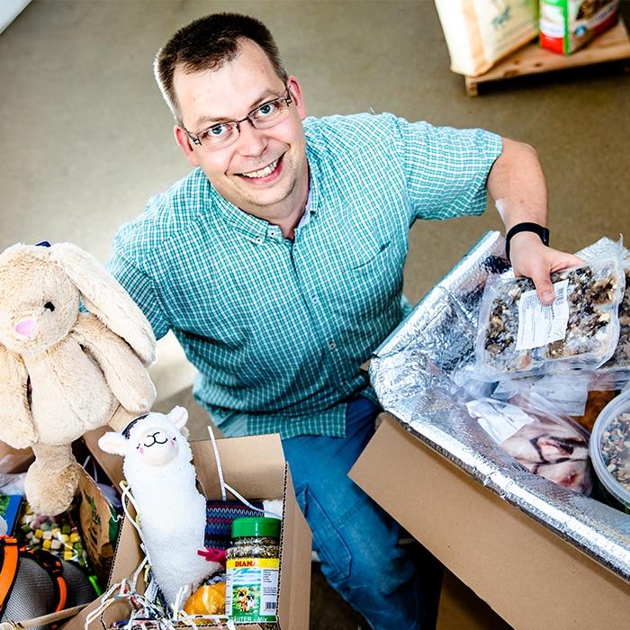 Referenze Leerkamp Futter und Tier-Spielzeug