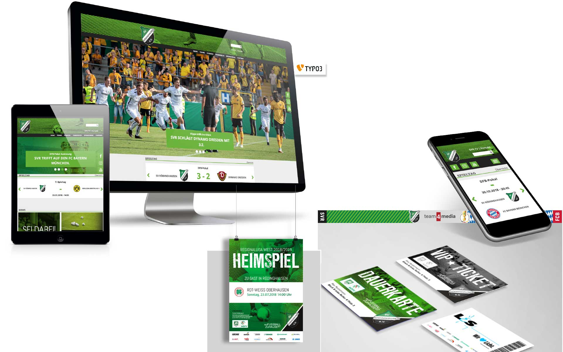 SV Rödinghausen gestaltet von team4media - Ihre Werbeagentur in Osnabrück