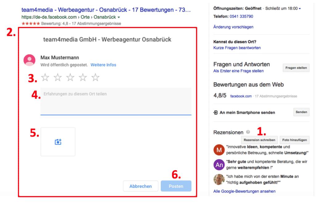 Google-bewertung-schreiben