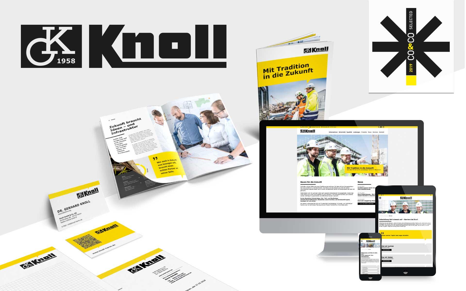 Knoll gestaltet von team4media - Ihre Fullservice Werbeagentur in Osnabrück
