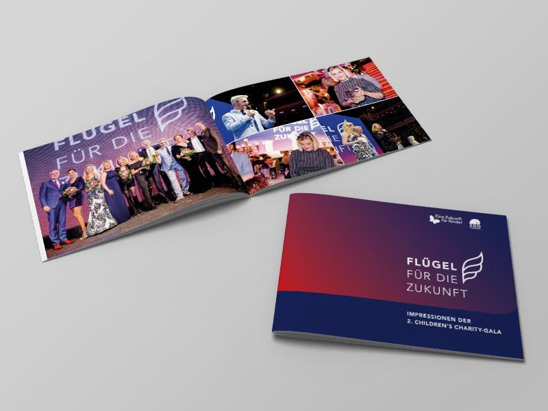 Booklet Flügel für die Zukunft von team4media - Ihre Werbeagentur aus Osnabrück