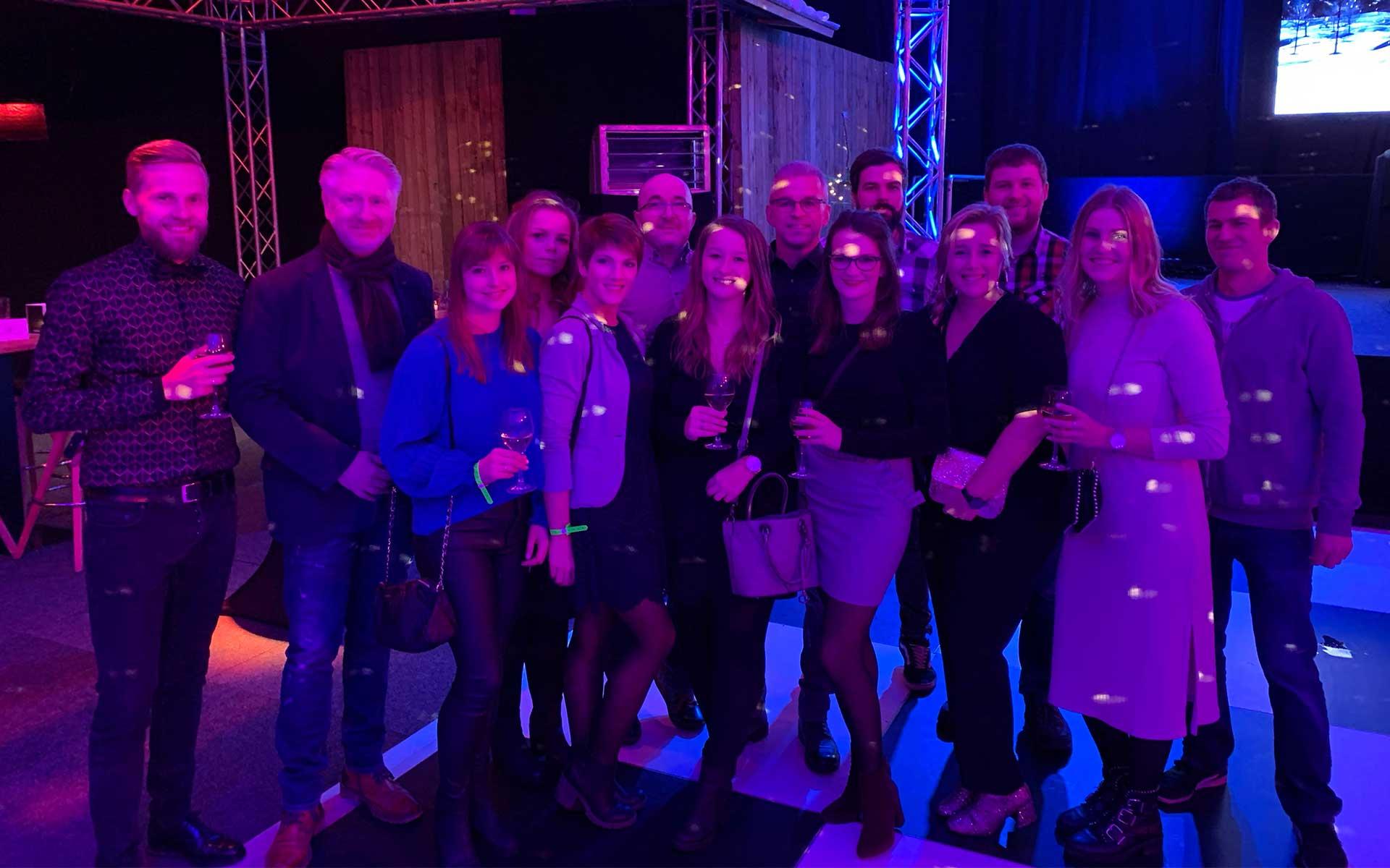 In Feierlaune: team4media - Ihre Werbeagentur aus Osnabrück