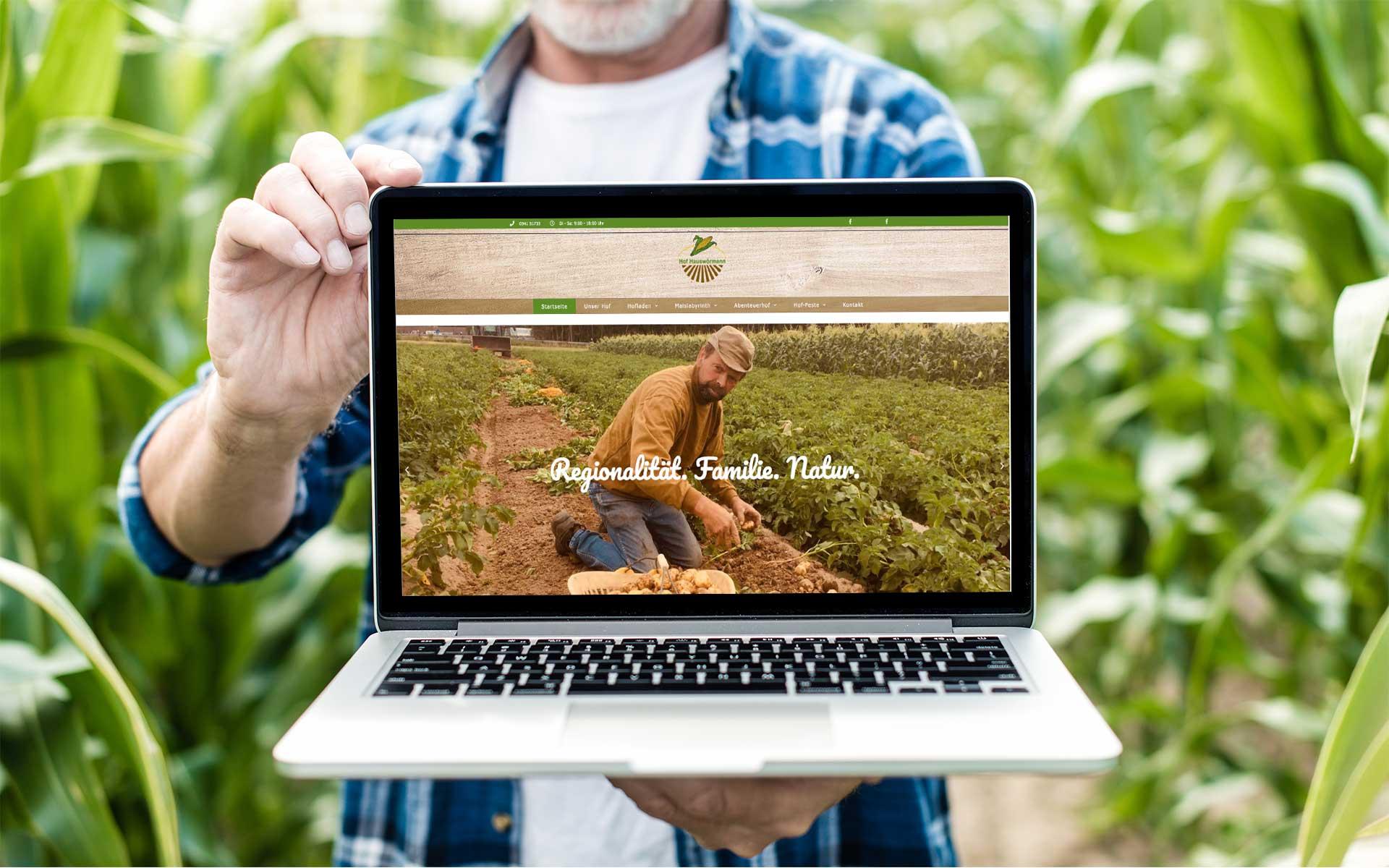 Neue Website für Hof Hauswörmann und Maislabyrinth Osnabrück