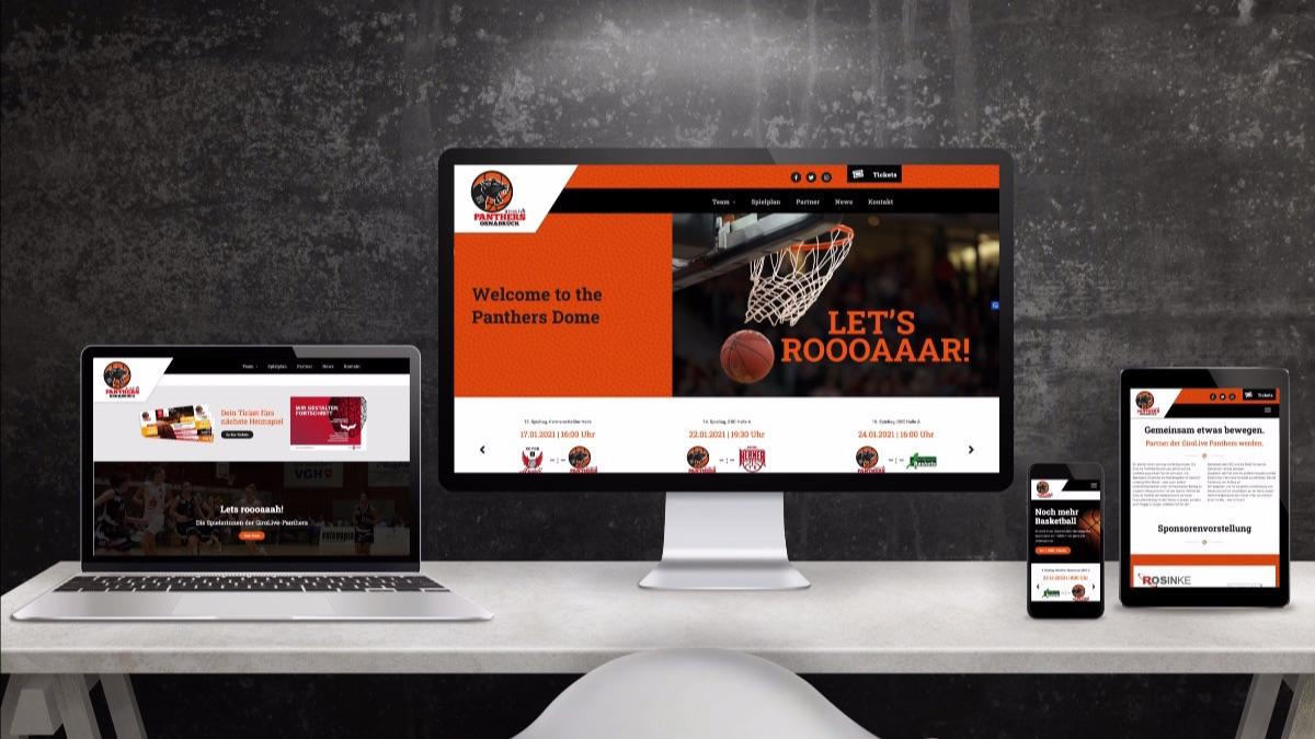Website GiroLive Panthers