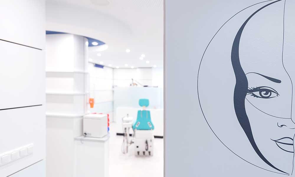 Behandlungszimmer beim Zahnarzt