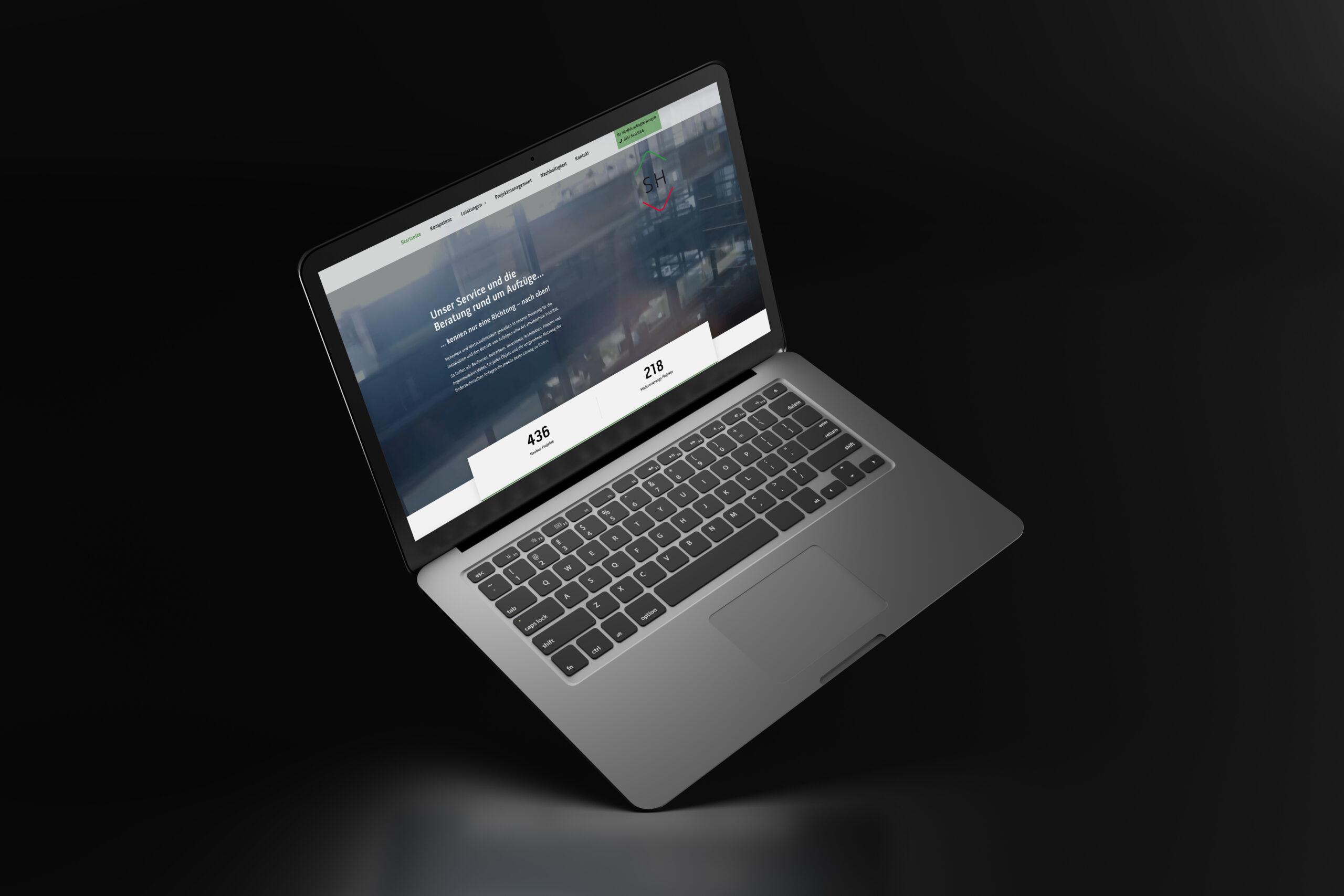 Neue Webseite für SH Aufzug-Technik-Beratung